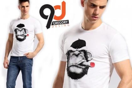 ¡Personaliza tus Camisetas! Paga RD$350 en vez de RD$700 por Camisetas con diseño personalizado en Gregory Desing.