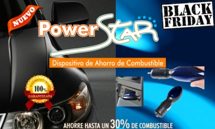 ¡Black Friday! ¡Ahorra hasta un 30% de combustible! Paga RD$475 en vez de RD$2,500 por Dispositivo Electrónico de Ahorro de Combustible Powerstar en CR Group. ¡Solo 30 Unidades disponibles!