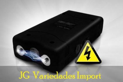 ¡Protégete de los Delincuentes! Paga RD$655 en vez de RD$2,500 por Pistola eléctrica de Auto-defensa (18,000 watts), recargable vía USB en JG Variedades Import.
