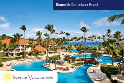 ¡Un fin de semana para disfrutar en pareja! Paga RD$14,460 en vez de RD$29,000 por 3 días y 2 noches para 2 personas todo incluido en Barcelo Dominican Beach con Olivence Vacaciones.
