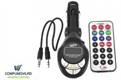 ¡Fantástico MP3 para tu vehículo! Paga RD$375 en vez de RD$750 por MP3 con pantalla digital + Portamemoria USB + Portamiento para micro SD + Control remoto en COMPUMOVILRD.