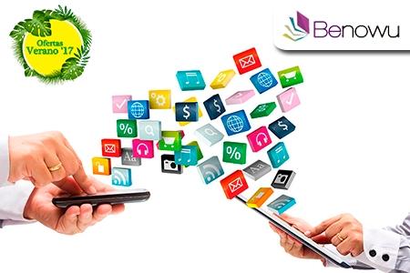 ¡Tu entrada a la creación de Apps! Paga RD$260 en vez de RD$7,300 por Curso de Creación de Aplicaciones Móviles de éxito en Benowu.