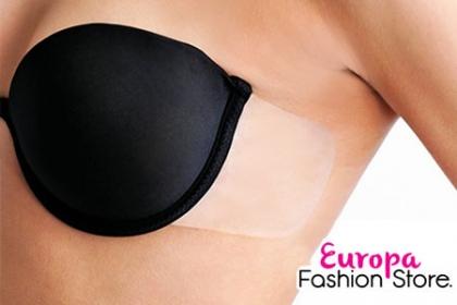 Â¡Muestra tu escote con comodidad! Paga RD$660 en vez de RD$1,500 por Brassier sin espalda Strapless en Europa Fashion Store.