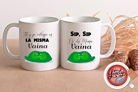 Diseño de tazas personalizadas gratis