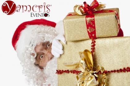 ¡Sorprende a los Tuyos con Santa Claus! Aprovecha y Paga RD$1,500 en vez de RD$3,500 por Entrega Personalizada de regalos con Santa Claus, para angelitos, regalo en la oficina, etc ó para sorprender a los niños el 24 de diciembre para que santa le entregue el regalo en su cama en Yamcris Eventos.