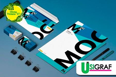 ¡Crea la imagen de  tu negocio por completo! Paga RD$990 en vez de RD$25,000 por Creación de Marca Corporativa que Incluye: Diseño de Logo + Diseño de Tarjeta de Presentación + Sobre 9x12 + Sobre para cartas + Hoja Timbrada + Carpeta Corporativa en USIGRAF RD.