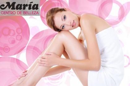 ¡Libre de Vellos! Paga RD$420 en vez de RD$1,700 por Depilación con Cera en Axilas + Bikini + Media Piernas + Labio Superior + Cejas en el Centro de Belleza Maria.