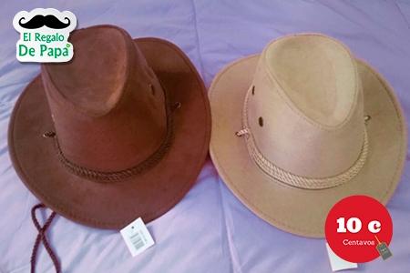 ¡Dale un regalo con estilo a papá! Paga RD$210 en vez de RD$600 por Sombrero para papá + Descuento en Perfumes en 10 Centavos.