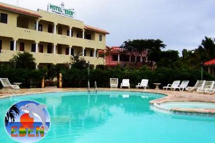 ¡Vacaciones en Bayahíbe! Paga RD$2,600 en vez de RD$5,200 por Estadía de 3 días y 2 noches para 2 Personas en Habitación con vista a la Piscina ó Jardín en El Hotel El Edén.