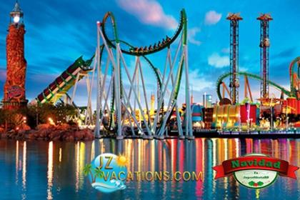 ¡Tu viaje soñado en familia! Paga USD$149 en vez de USD$760 por Paquete exclusivo en Orlando, Florida que incluye 4 Días y 3 Noches para 4 personas + Desayuno Buffet de Bienvenida + Transporte ilimitado y 2 entradas a cualquiera de los Parques de diversiones participantes con JZ Vacations.