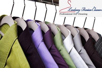 Â¡Ropa bien limpia! Paga RD$54 en vez de RD$120 por Lavado y planchado de 1 prenda de vestir (Camisas normales, pantalones, blusas normales, faldas normales, bermudas, tshirt, poloshirt) en Landaury Premium Cleaners.