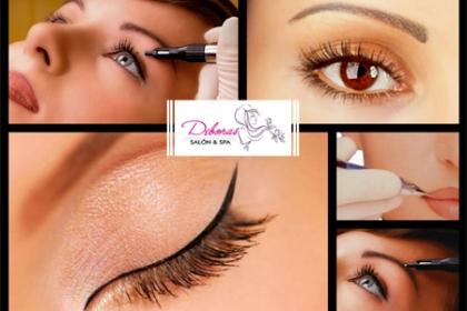 ¡Dale Vida a tu Rostro! ¡Maquillaje Permanente! Paga RD$1,995 en vez de RD$4,300 por Micropigmentación a elegir entre Cejas, Ojos o Labios en Deboras Salón & Spa.