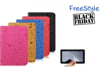 Â¡En Exclusiva por el BlackFriday! Aprovecha y Paga RD$250 en vez de RD$500 por Cover para Tablet Sin Teclado para que protejas tu tableta en FreeStyle.