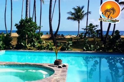 ¡Vacaciones pa� Las Terrenas! Paga RD$6,450 en vez de RD$12,900 por Estadía de 3 días y 2 noches en Villa para 2 personas + 1 niño de 0-6 años en Habitación con Vista al Mar en La Villa Playa Cosón en Samaná.