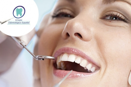 ¡Luce una Sonrisa Encantadora! Aprovecha y Paga  RD$490 en vez de RD$1,470 por Consulta +  Diagnóstico + Limpieza dental profunda Ultrasónica + 1 Obturación de carie en el Grupo Odontológico Español.