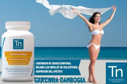¡Prepárate para Diciembre con menos libritas! Paga RD$995 en vez de RD$2,500 por Trusted Nutrients 65% HCA Garcinia Cambogia de 60 capsulas en Trusted Nutrients.