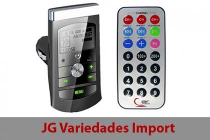 Â¡MP3 para tu auto! Paga RD$375 en vez de RD$750 MP3 con pantalla digital + Portamemoria usb + Portamiento para Memoria Micro sd + Control remoto en JG Variedades Import.