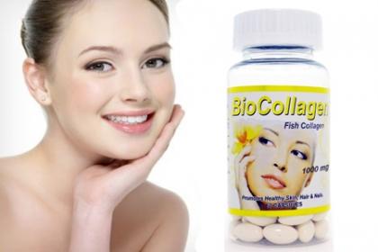 ¡Rejuvenece la Piel, Cabello y Uñas! Paga RD$790 en vez de RD$4,600 por Frasco de BioCollagen 1000 mg con Vitamina C, contiene Hidrolizado de Antiedad 60 Softgel Cápsulas en Ross Style.
