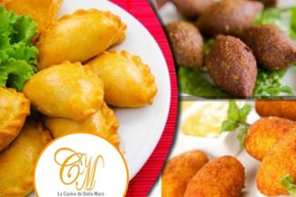 ¡Ummm Deliciosas Picaderas! Aprovecha y Paga  RD$595 en vez de RD$1,200 por 12 Quipes + 12 Croquetas de Pollo + 12 Pastelitos de Pollo en  La Cocina de Doña Maro.