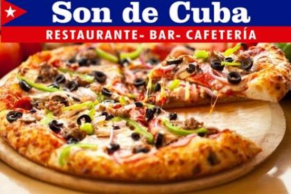 ¡Para los amantes de las Pizzas! Paga RD$99 en vez de RD$200 por Pizza Personal, a elegir entre (Pepperoni, jamón, maíz ó extra queso) + Refresco en Son de Cuba.