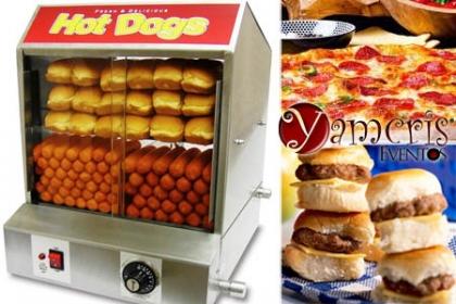 ¡Haz tu Fiesta a lo Grande! Paga D$1,950 en vez de RD$4,200  con una de estas Máquinas a elegir: Alquiler de Máquina de Pizza (60 slide), Alquiler de Máquina de Hot Dog (50 unidades) ó Alquiler de Máquina de Hamburger (50 unidades) en Yamcris Eventos.