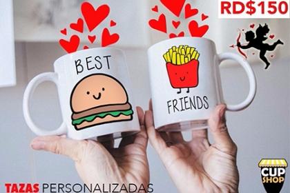 Â¡Una taza de amor! Paga RD$150 en vez de RD$350 por Taza personalizada en Cup Shop.