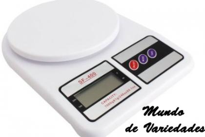 Â¡Controla lo que Comes! Paga RD$455 en vez de RD$950 por Balanza Electronic Kitchen Scale en Mundo de Variedades.