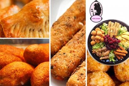 ¡Picadera para toda Ocasión! Paga RD$850 en vez de RD$1,800 por Mesa de Picadera Salada con 15 Tarticas de Jamón y Queso + 15 Pastelitos de Res + 15 Bolitas de Yuca rellenas de Carne + 15  Albondiguias en Salsa Agridulce + 15 Mini Crepes de Queso Crema y Puerro en Sweet Gourmet.
