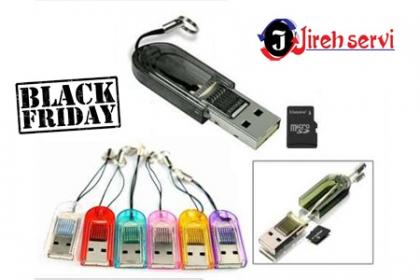 ¡Tú Black Friday llegó! Aprovecha y Paga RD$99 en vez de RD$270 por Adaptador para Micro SD en  Jireh Servi.