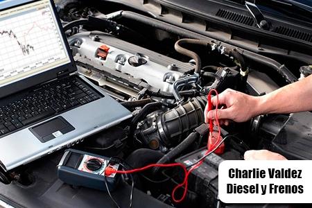 ¡Es tiempo de chequear tu vehículo! Paga RD$299 en vez de RD$1,000 por Chequeo Computarizado con Scanner + Chequeo Tren Delantero + Chequeo Suspensión + Chequeo Flujo de Aire en Charlie Valdez Diesel y Frenos.