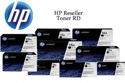 ¡Imprime y Ahorra! Paga RD$1,980 en vez de RD$4,500 por Cartuchos de Tóner HP NUEVO y ORIGINALES en HP Reseller Toner DR.