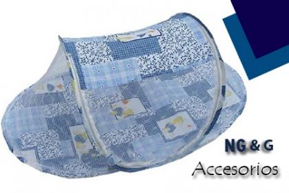¡Ideal para tu bebé! Paga RD$350 en vez de RD$650 por Cuna mosquitero portátil en NG&G Accesorios.