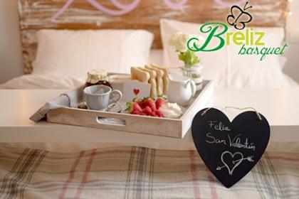 ¡Perfecto para San Valentín! Paga RD$2,450 en vez de RD$5,450 por Desayuno personalizado para esa persona especial con Breliz Basquet.