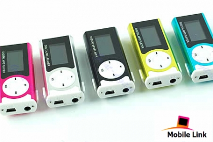 ¡Disfruta de tu música sin límites! Paga RD$ 350 en vez de RD$ 800 por un MP3 Mini Clip con pantalla LCD + Cargador + Handfree en Mobile Link