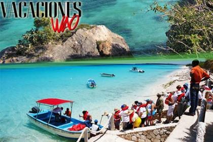 ¡Una aventura inolvidable! Paga RD$2,450 en vez de RD$5,000 por Excursión a Bahía de las �guilas + Certificado válido para una noche Gratis en el Hotel Ocean Blue & Sand + Lavado sencillo de auto en Plaza Nicole en Vacaciones Wao.