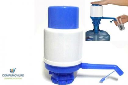 Â¡Elimina bacterias en el agua! Paga RD$249 en vez de RD$598 por Bomba para botellones en CompumovilRD.