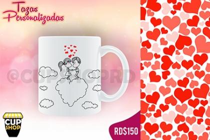 ¡Personalízala a tu gusto! Paga RD$150 en vez de RD$350 por Taza personalizada en Cup Shop.