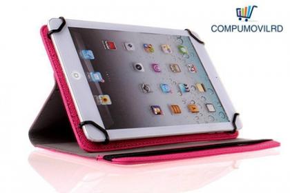 Â¡Estiliza y protege tu Tablet! Paga RD$350 en vez de RD$900 por un Cover en piel para tabletas de 7 pulgadas en CompumovilRD.