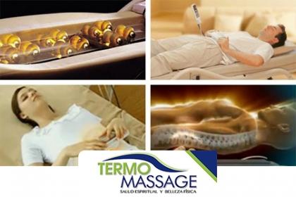 Â¡El placer de sentirse bien! Paga RD$150 en vez de RD$300 por masaje de 40 minutos en Cama de Termo Masaje con Piedras de Jade en Termo Massage.