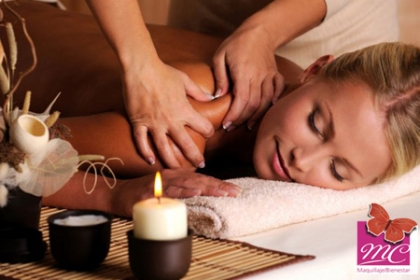 ¡Relájate mientras nosotros Cuidamos de tu Cuerpo!  Aprovecha y Paga RD$495 en vez de RD$2,500 Por Masaje Relajante (30 min) + Exfoliación de Espalda + Bambuterapia + Hidratación de Espalda + Aromaterapia + Musicoterapia + Te relajante en  MC Dermoestética.