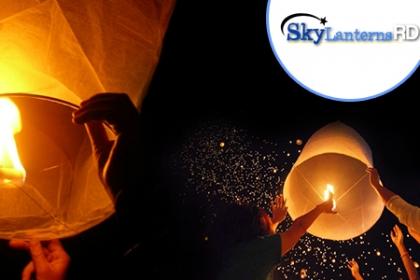 Â¡Celebra tus fiestas de forma Diferente en Navidad! Aprovecha y Paga RD$187 en vez de RD$400 por Goblo de la Suerte en Sky Lanterns RD.