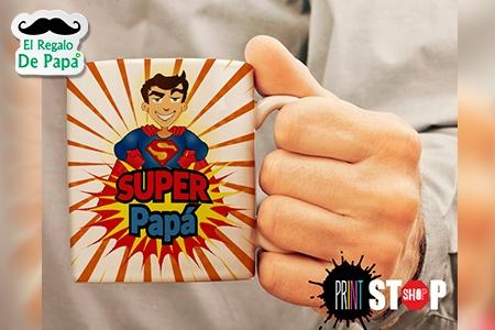 ¡La taza exclusiva de papá! Paga RD$160 en vez de RD$350  por Taza Personalizada para papá en PrintStop Shop.