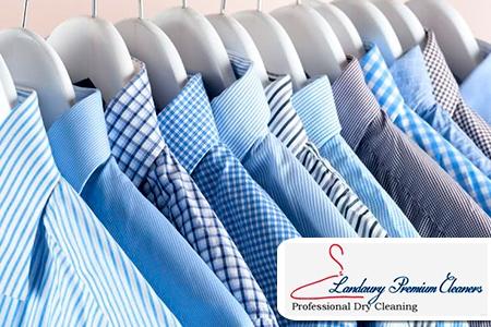 ¡Luce impecable con el mejor servicio de lavandería! Paga RD$54 en vez de RD$130 por Lavado y planchado de 1 prenda de vestir (Camisas normales, pantalones, blusas normales, faldas normales, bermudas, tshirt, poloshirt) en Landaury Premium Cleaners.