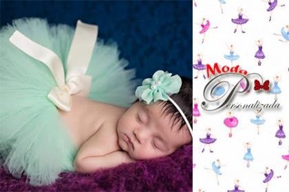 Â¡Tutu para tu princesa! Paga RD$850 en vez de RD$1,550 por Set de tutu infantil en Moda Personalizada.