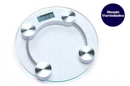 ¡Mide tu peso con una precisión asombrosa! Paga RD$580 en vez de RD$1,200 por Balanza Digital Personal Scale con base de Cristal templado en Mundo Variedades.