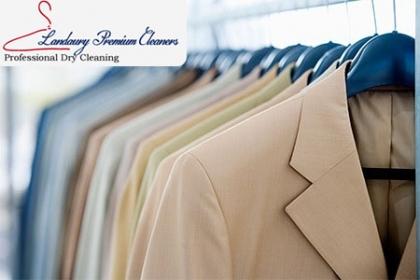 Â¡Ropa siempre limpia! Paga RD$54 en vez de RD$120 por Lavado y planchado de 1 prenda de vestir (Camisas normales, pantalones, blusas normales, faldas normales, bermudas, tshirt, poloshirt) en Landaury Premium Cleaners.