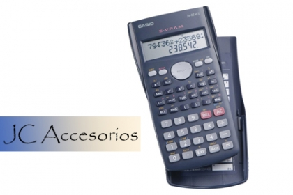 ¡Sé más ágil con tus cálculos! Paga RD$399 en vez de RD$900 por Calculadora Científica Casio en JC Accesorios.