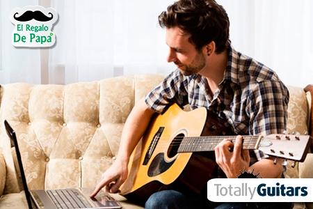¡Haz realidad el sueño de Papá! Paga RD$720 en vez de RD$14,100 por 6 meses de Clases de Guitarra Online con Neil Hogan en Totally Guitars.