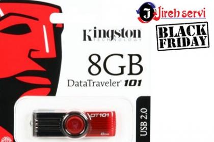 Â¡BlackFriday! Aprovecha y Paga RD$385 en vez de RD$770 por Memoria USB Kingston 8GB en  Jireh Servi.