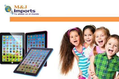 ¡Llévate tu Tableta Para Niños! Aprovecha y Paga RD$875 en vez de RD$2,350 por Tablet Multimedia de 7 pulgadas + 6 Modos de Aprendizaje + Funciones para Aprender los Números y el Alfabeto + Sonidos y Canciones Educativas en M&J Imports